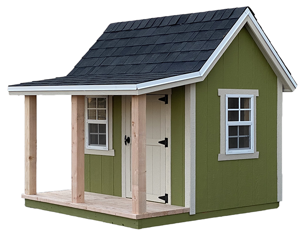 Small Junior Cabin Playhouse 6X6