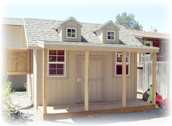 Apex shed company custom playhouse