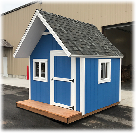 Utah Standard Custom Playhouse with Porch