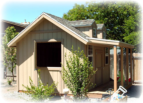 Apex shed company utah custom playhouse